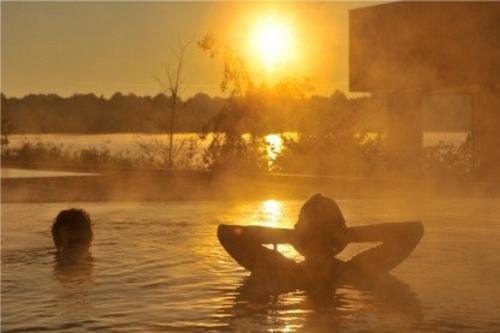 Sonnenuntergang am Ruppiner See