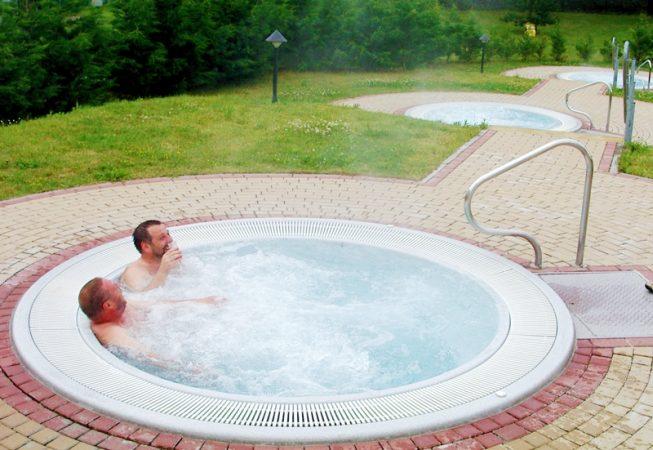 Saaleperle Bernburg 1998 Whirlpool