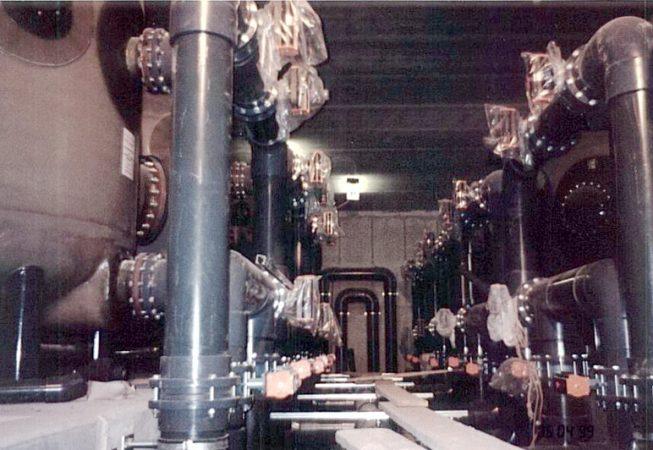 Saaleperle Bernburg Filterraum Bauphase