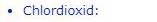 Liste Chlordioxid