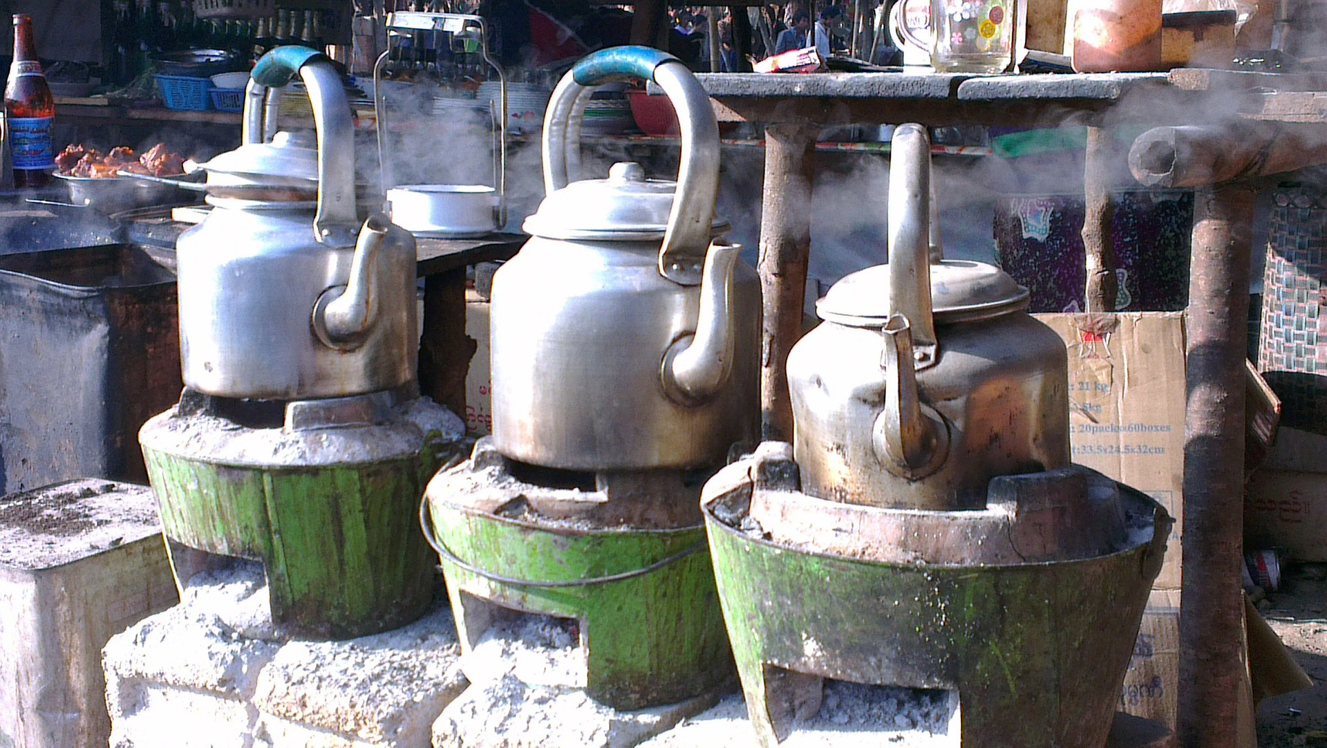Desinfektion Wasserkocher