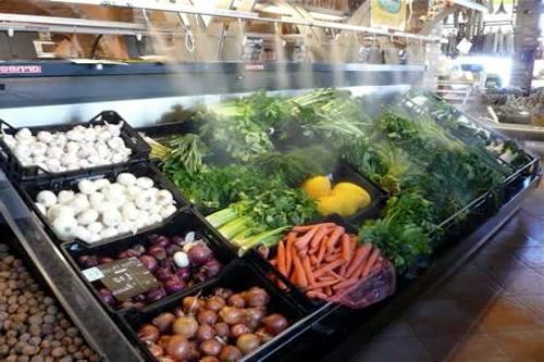 Befeuchtung Gemüse 500