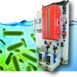 Chlordioxid-Anlage mit Legionellen 500