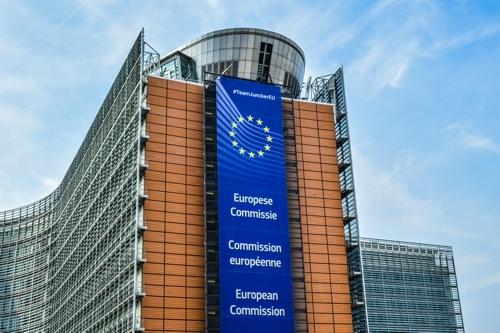 Europäische Union Gebäude der Kommission 500
