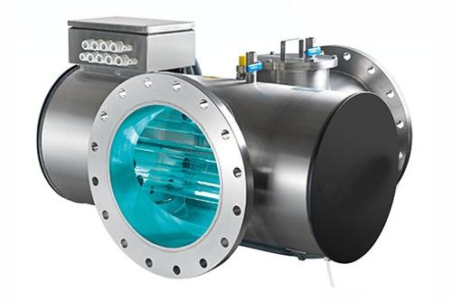 UV Anlage mit Lampen 500