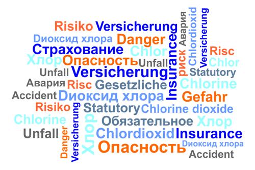 Dokument Unfallverhütungsvorschrift Chlorung von Wasser