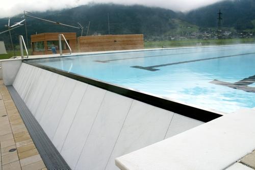 2009 … 2010 Hydraulische Auslegung und Bauleitung der Außenbecken Tauern SPA Kaprun