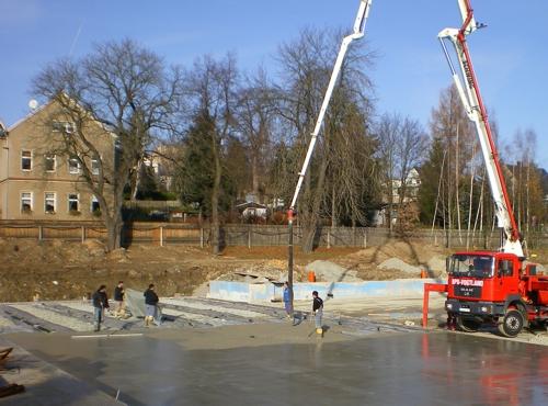 Beckenhydraulik Foto 8 Reichenbach Sportbecken betonieren