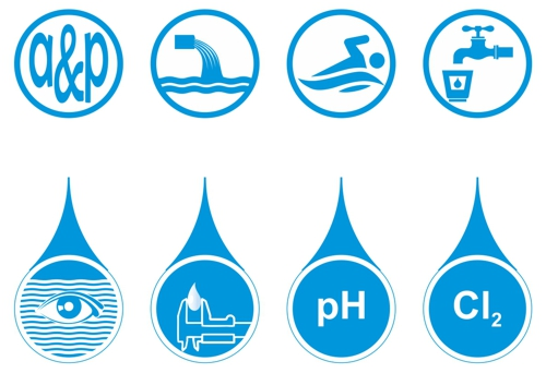 Piktogramme Wasseraufbereitung