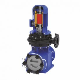 Blaue Pumpe 500